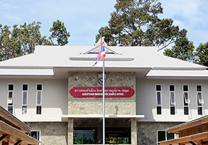 Le bureau de l'immigration de Koh Samui s'installe à Maenam