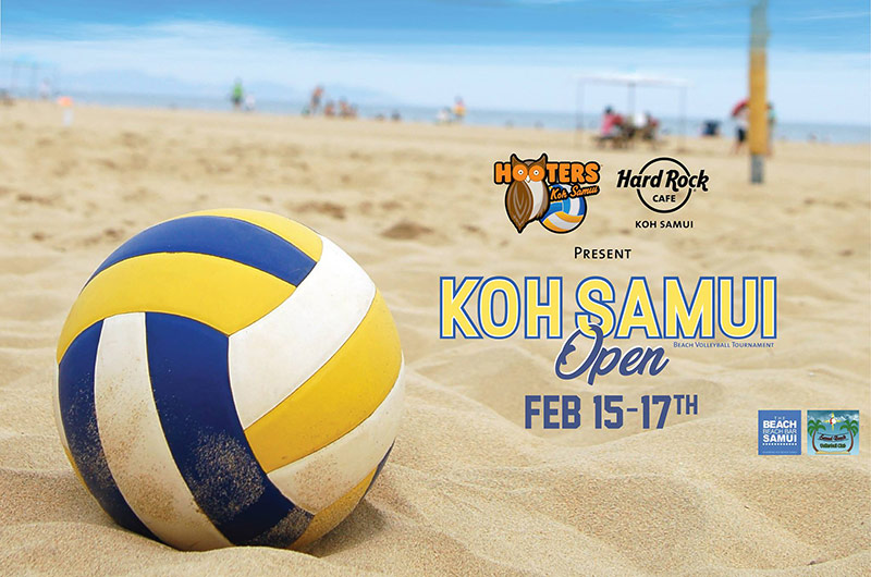 Koh Samui Open Beach Volleyball Tournament 2019
